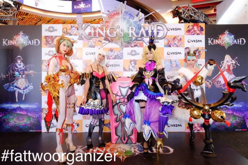 Event Kings raid Game online Tournament